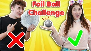 POLISHED FOIL BALL CHALLENGE | DIY how to make the best polished foil ball - Video Youtube