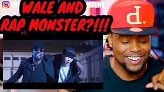 BLACK GUY REACTION to Rap Monster ft Wale - Change | BTS