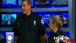Mark Peterson gets surprised by EMTs