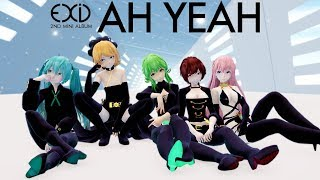 [MMD Commission] EXID - Ah Yeah [Motion Trace]