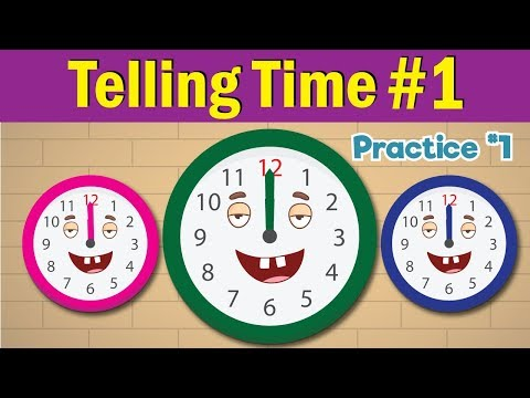 Learn to Tell Time | What's the Time?