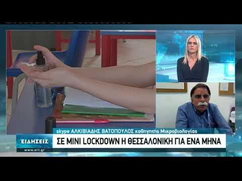 Α. Βατόπουλος: Αυξήθηκε υπέρμετρα η δυνατότητα της μεταφοράς του ιού   30/10/2020   ΕΡΤ