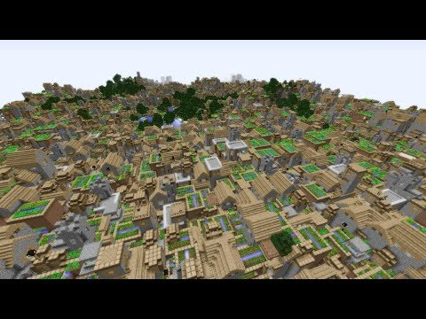 Infinite Villages in Minecraft!