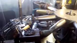 automatic champagne capsule making machine