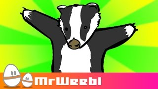 Badgers : animated music video : MrWeebl