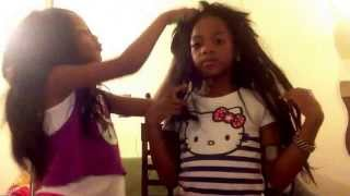 Lil girls Perm It Up!!