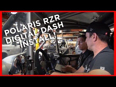 CD-7 Dash install on Polaris RZR with Camburg Racing