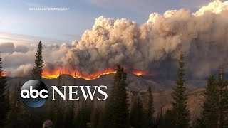 Massive infernos devastate Colorado