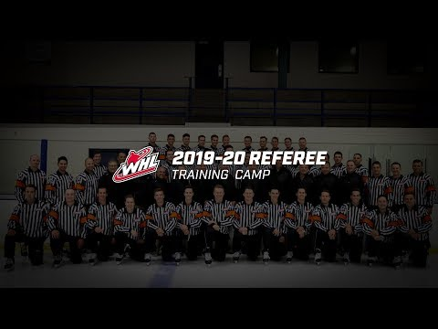 OFFICIATING | 2019 WHL Referee Training Camp - YouTube