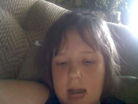 My sister didnt realize the webcam was on. - YouTube