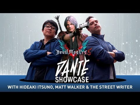Dante Showcase v2 with Itsuno Hideaki, Matt Walker & Matt Edwards de Devil May Cry 5