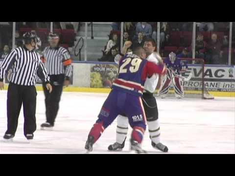 Dannick Lessard vs. Patrick Bernier