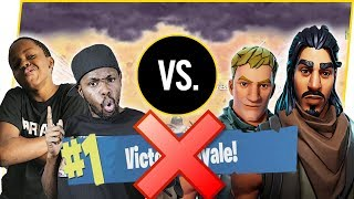 2V2 FOR THE WIN! EPIC CHOKE?? - FortNite Battle Royale Ep.45