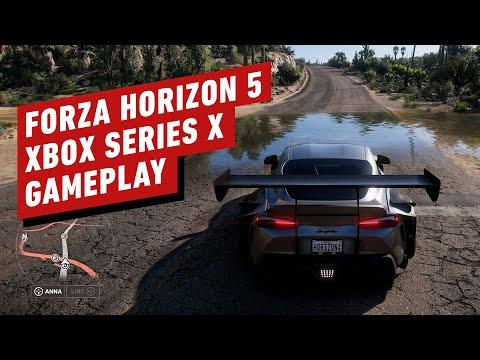 14 minutes de gameplay sur Xbox Series X de Forza Horizon 5