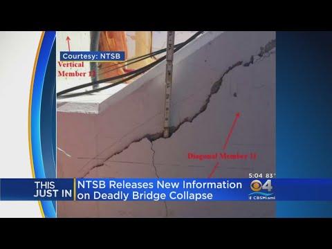 NTSB Updates Investigation Into FIU Bridge Collapse