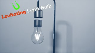 MAGNETIC Levitating Light Bulb Desk Lamp Charged Through Air ► Gadgetify