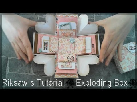 DIY [Tutorial #1] Exploding Box [with english sub]