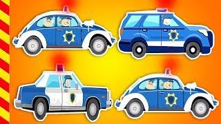 Машины для детей все серии 15 МИН. Мультик про машинки. Ловим преступников Мультик про полицию.