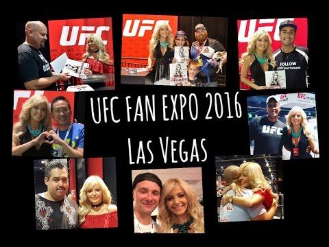 JhennyAndradeTV – UFC Fan Expo 2016 Las Vegas