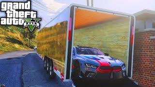 Crown Vic On 28s & BMW M8 Delivery! GTA 5 Real Life Mod #24 (Real Hood Life 4)
