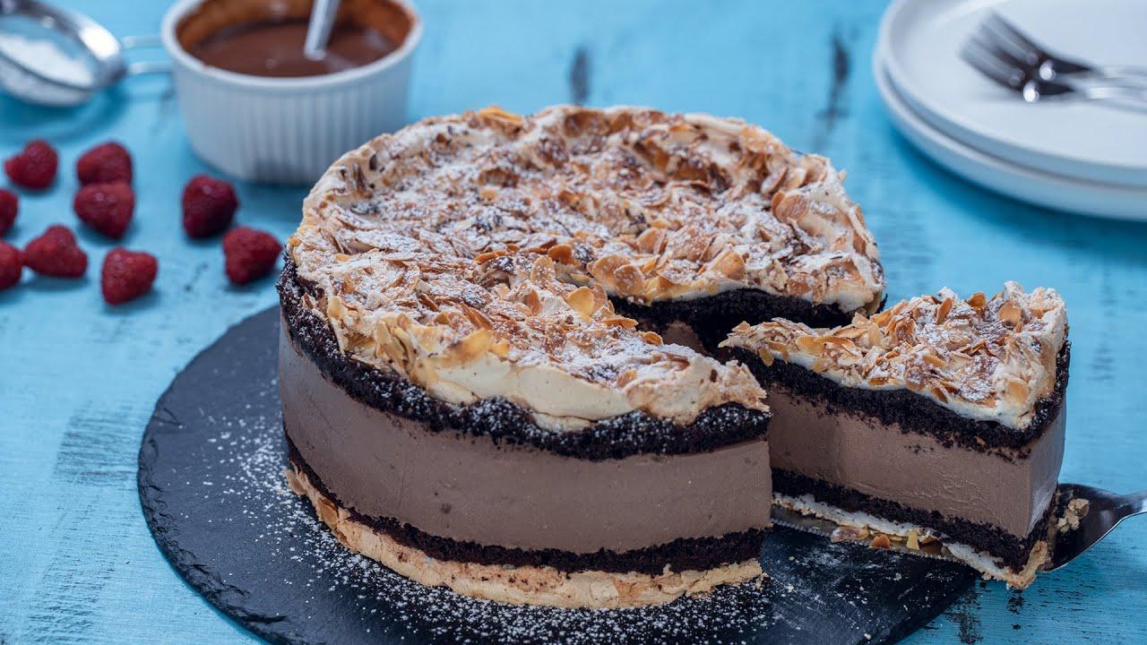 Chocolate Norwegian Cake - Chocolate Verdens Beste - World's Best Chocolate Cake