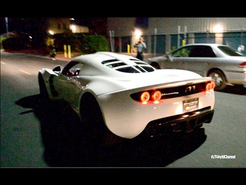 Two LOUD Hennessey Venom GT Supercars
