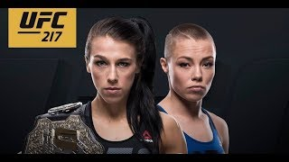 UFC 217: Joanna Jedrzejczyk VS Rose Namajunas Бой за титул чемпиона.