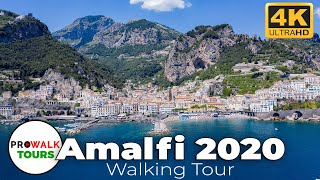 Amalfi Walking Tour 4K - June 27th, 2020
