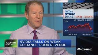 Nvidia falls on weak guidance, poor revenue