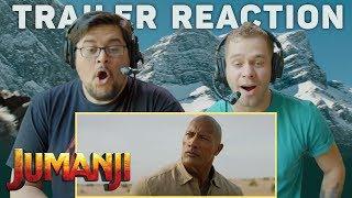 Jumanji: The Next Level   Official Trailer Reaction