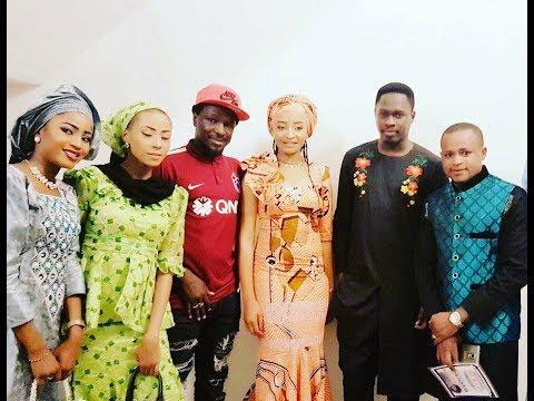 Jarimi Ali Nuhu a wajen sabon fim a lagos (Hausa Songs / Hausa Films)