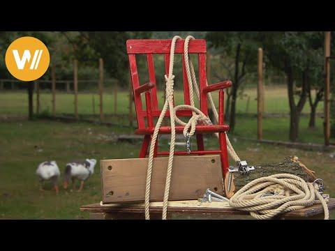 Kinderschaukel selber bauen - Hans-Peter gibt wertvolle Tipps