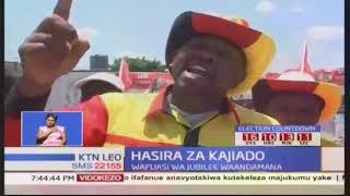 Wafuasi wa Jubilee kaunti ya Kajiado wafanya maandamano kupinga maandamano ya NASA kote nchini