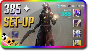 Destiny 2 - 385 Power Set-Up & Fast Power Tips (Destiny 2 Warmind 385 Light Fast)