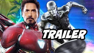 Avengers Endgame Trailer - Post Credit Scene Theory and Easter Eggs