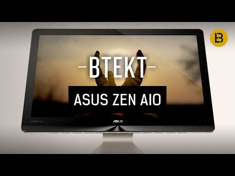ASUS Zen AiO Pro Hands-on: All-in-one, 4K display, mega shiny shiny!