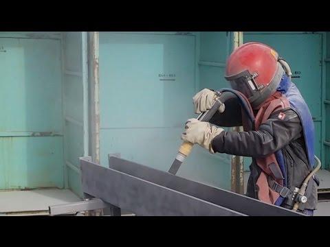 SAND / COPPER SLAG BLASTING MACHINE