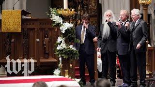 Oak Ridge Boys perform at George H.W. Bush funeral