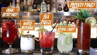 How to Make 5 Easy Cocktails On a Budget