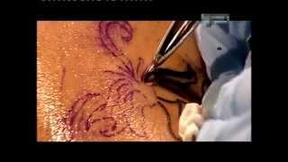 процесс нанесения тату  Как делают татуировку