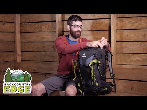 Видео о Рюкзак Deuter Freerider 26 цвет 3010 navy 3303217 3010