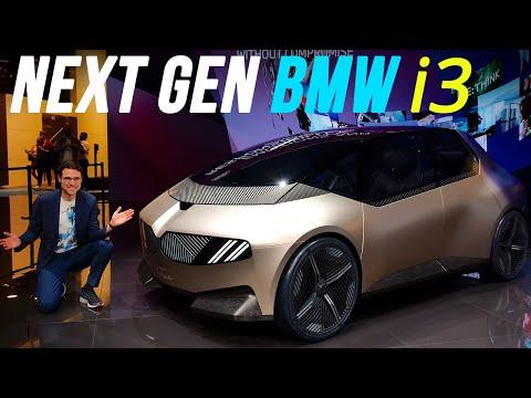 Next Gen BMW i3 shows the future of BMW EVs! BMW i Vision Circular