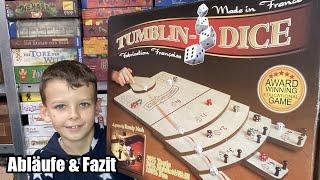 Tumblin-Dice (Ferti Games) - XXL Spiel - Abläufe, gameplay und Fazit - für Jung und Alt! Rarität!