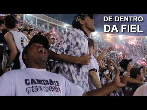Final da Libertadores 2012. Antes, durante e depois  torcida do Corinthians