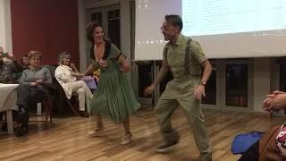 Il ballo e la musica Swing alla nostra Apericena del 27 Gennaio a Villa Bigatti