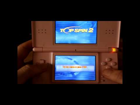 Lets Play Top Spin 2 For The Nintendo DS   Classic Retro Game Room