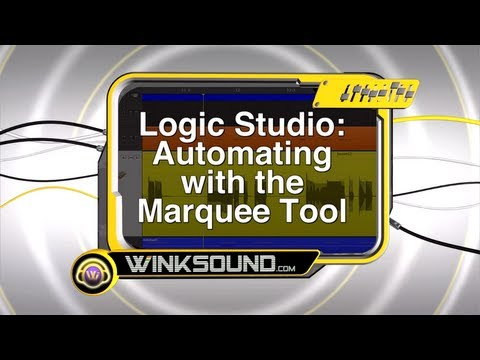 Logic Pro: Automating with the Marquee Tool | WinkSound