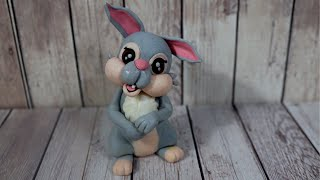 Thumper Rabbit cake topper – Bunny Cake Topper – Easter Idea