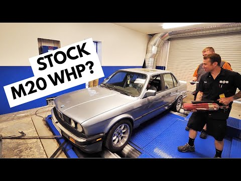 HOW MUCH HP DOES A 30yr OLD BMW E30 MAKE?