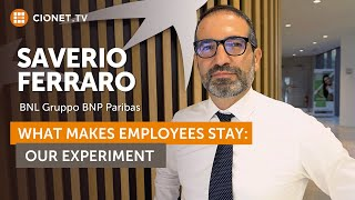 Saverio Ferraro – BNL BNP Paribas – What makes good developers stay?